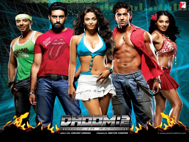 Dhoom Again Dhoom 2 (Байкеры 2)