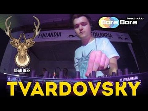 TVARDOVSKY @ Dear Deer Showcase - Bora Bora Beach Club, Kyiv, 1/08/2015