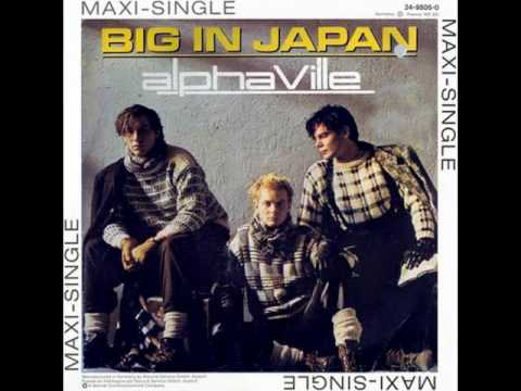 BIG IN JAPAN--Instrumental version(Alphaville)...cover.
