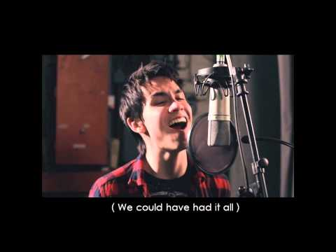 Rolling In The Deep - (Sam Tsui + Tyler Ward Cover) [Lyrics]