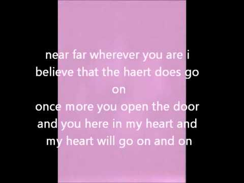 Celine Dion My Heart Will Go On (Instrumental)