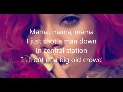 Rihanna - Man Down (Lyrics Video)
