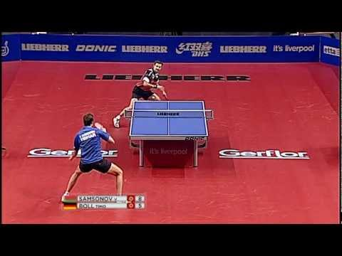 2012 World Cup MS-QF: Vladimir Samsonov - Timo Boll (full match|short form) HQ