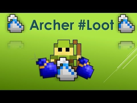 Rotmg Archer #loot #10-Abyss White Bag