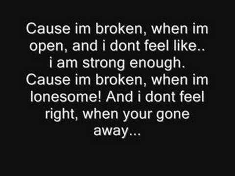 Broken-Seether & Amy Lee from Evanescence(Lyrics) HQ FULL