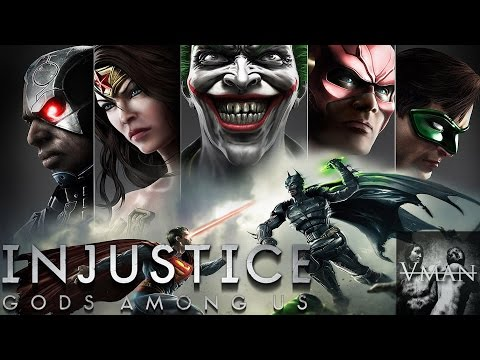 Injustice: Gods Among Us - Story Mode On Very Hard By Vman