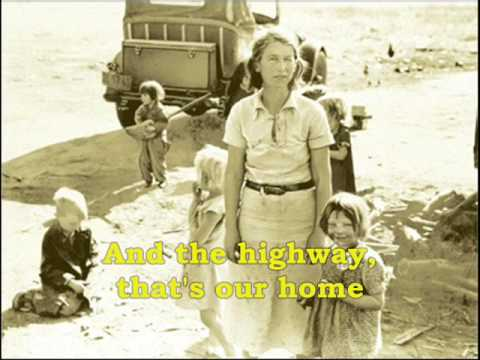 Dust Bowl Refugee-- Woody Guthrie
