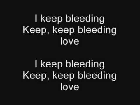 The Baseballs - Bleeding love (Lyrics)