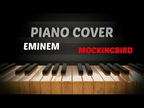 Eminem - Mockingbird (piano cover) by P-Trick