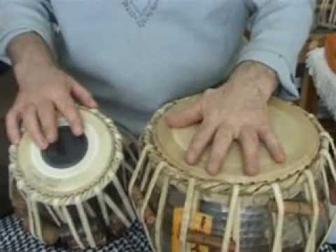 White India - Tabla lesson 22 - Kherewa Tal 8 beats - Part 1