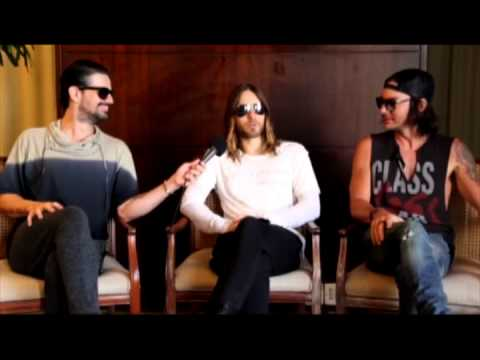 30 Seconds To Mars fala sobre Heavy Metal no Wikimetal