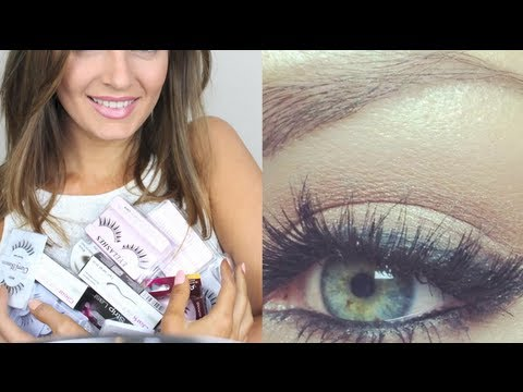 How to: Single, Strip and Lower Lashes + Removing & Double Stacking!