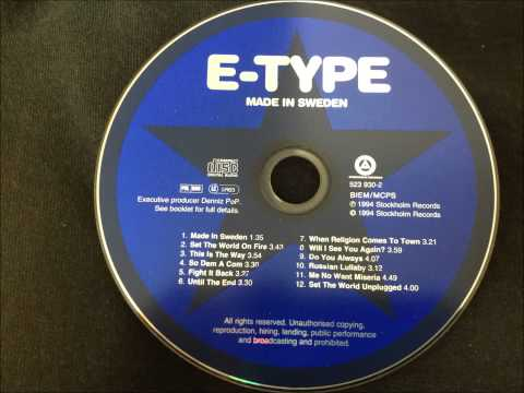 E-Type - Fight It Back