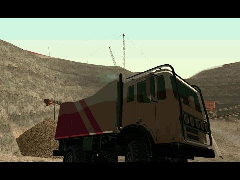 GTA San Andreas: How to get the Dune (Duneride).