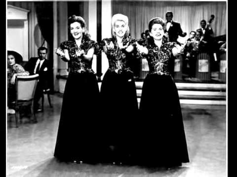 Lullaby Of Broadway - Andrews Sisters 1944