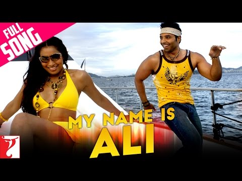 My Name Is Ali - Full Song - Dhoom:2