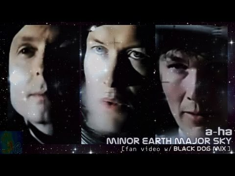 a-ha - minor earth major sky (black dog mix) [w/ lyrics subtitles]