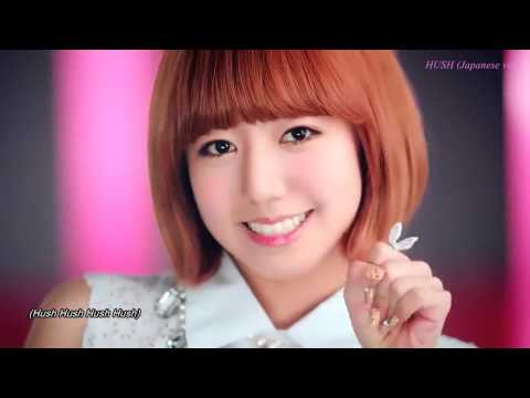 K POP A Pink HUSH Japanese ver 映像 KOR + 音声 JPN HD niconico GINZA