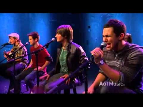 Big Time Rush Stuck (Acoustic) AOL-Music