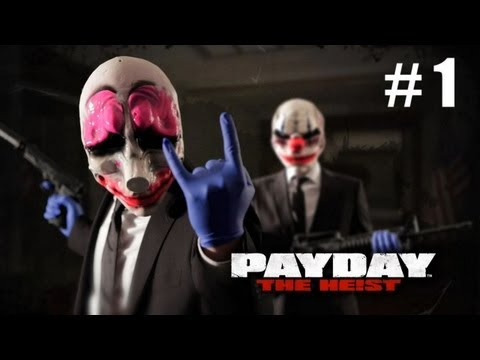 PayDay: The Heist - 1 серия.